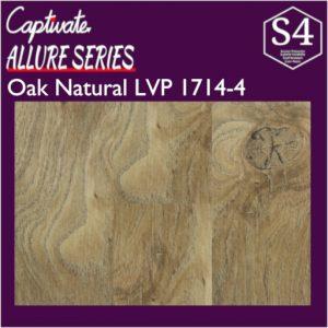 Captivate Flooring Allure Series Oak Natural LVP 1714-4